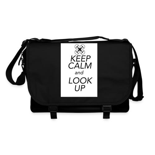 Keep Calm and Look Up - Schoudertas