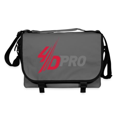 4d pro logo neu - Umhängetasche