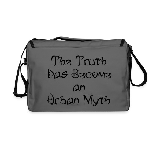 The Truth Has Become an Urban Myth (Tribal Font) - Shoulder Bag