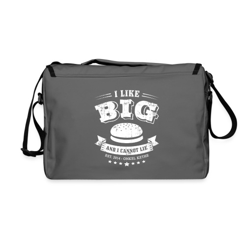 I Like Big Buns Shirt - Umhängetasche