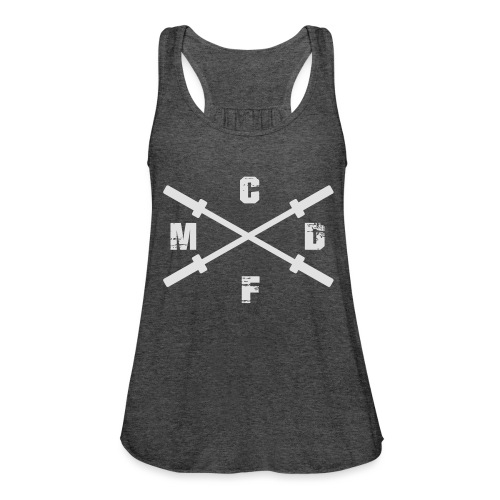 CFMD Crossed Barbells hell - Federleichtes Frauen Tank Top
