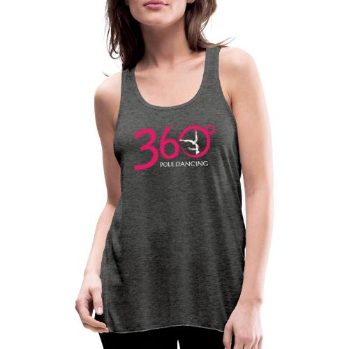 360 Pole Logo w White Writing - Featherweight Women's Tank Top
