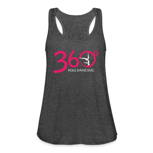 360 Pole Logo w White Writing - Women's Tank Top by Bella