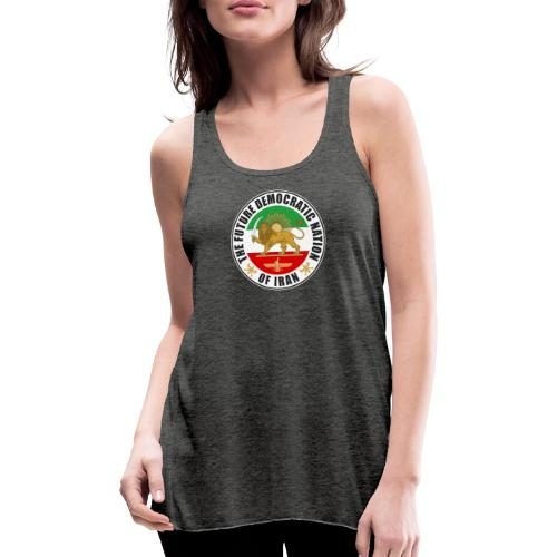 Iran Emblem Old Flag With Lion - Featherweight Women's Tank Top
