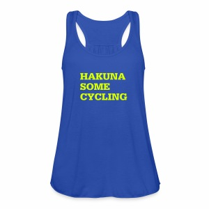 Hakuna some cycling - Frauen Tank Top von Bella
