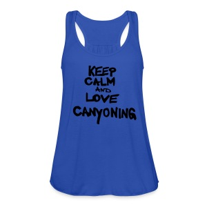 keep calm and love canyoning - Frauen Tank Top von Bella