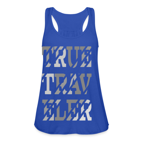 True Traveler Grey design - Naisten tankkitoppi Bellalta