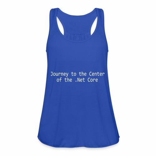 Journey to the Center of the .Net Core - Featherweight Women's Tank Top