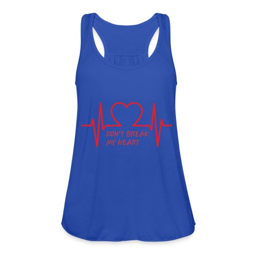 Don't break my heart - Federleichtes Frauen Tank Top