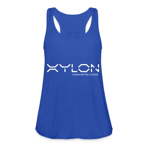 Xylon Handcrafted Guitars (name only logo white) - Women's Tank Top by Bella