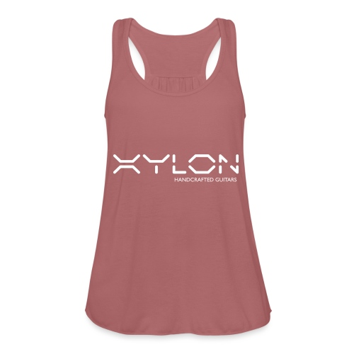 Xylon Handcrafted Guitars (name only logo white) - Featherweight Women's Tank Top