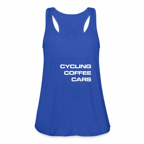 Cycling Cars & Coffee - Featherweight Women's Tank Top