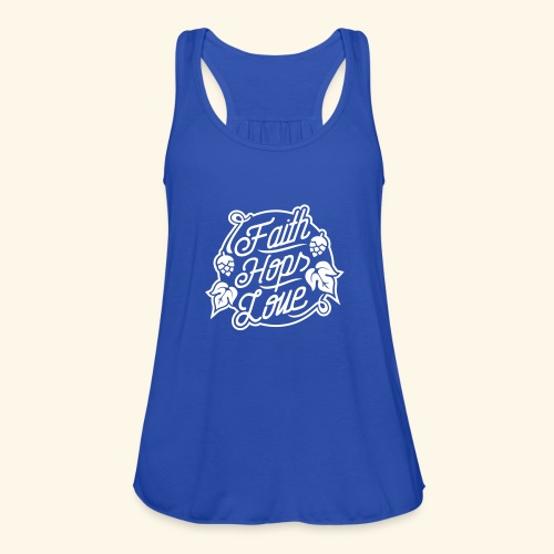 Faith, Hops, Love - Frauen Tank Top von Bella