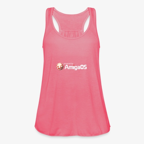 PoweredByAmigaOS white - Featherweight Women's Tank Top