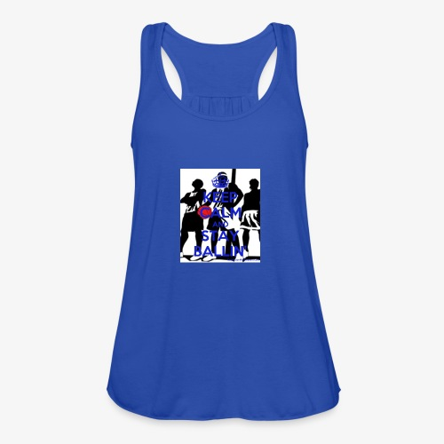 Keep Calm and Stay Ballin' - Featherweight Women's Tank Top