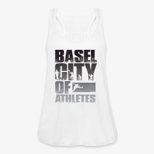 Basel City of Athletes B/W - Frauen Tank Top von Bella