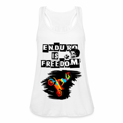 Enduro is Freedom! - Frauen Tank Top von Bella