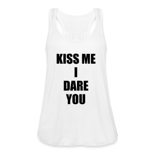 KISS ME I DARE YOU - Camiseta de tirantes mujer, de Bella
