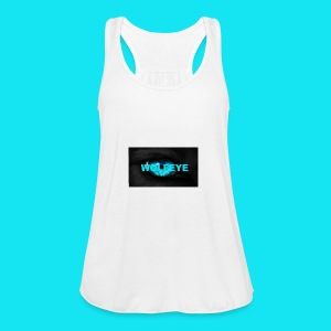 WolfEye T-Shirt - Women's Tank Top by Bella