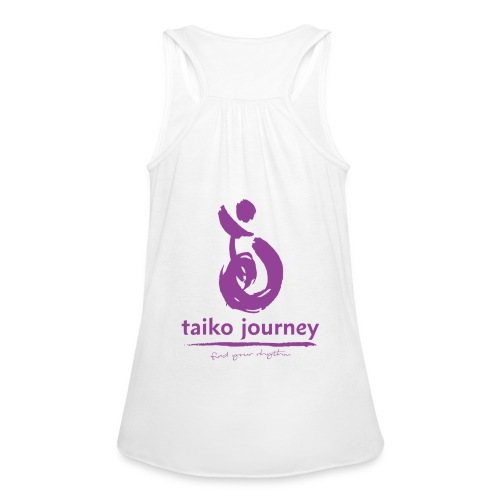 Taiko Journey PURPLE RHYTHM - Women's Tank Top by Bella