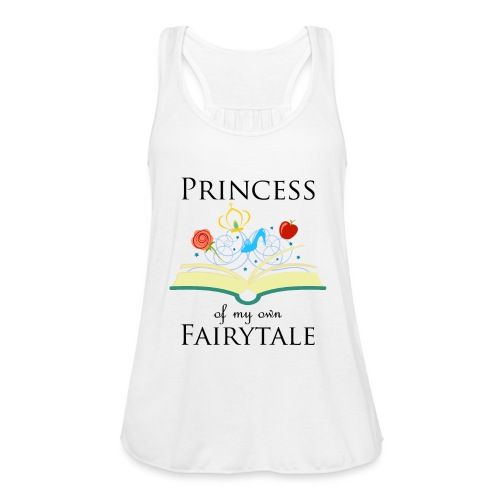 Princess of my own fairytale - Black - Featherweight Women's Tank Top