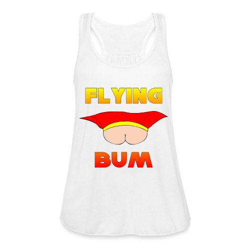 Flying Bum (face on) with text - Featherweight Women's Tank Top