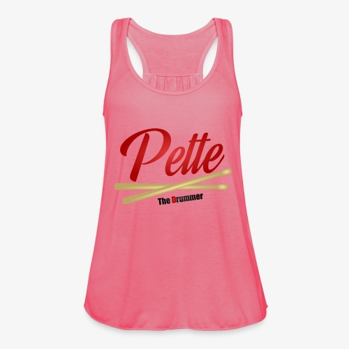 Pette the Drummer - Women's Tank Top by Bella