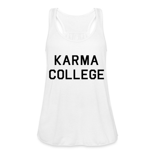 KARMA COLLEGE - Keep your hate to yourself. - Featherweight Women's Tank Top