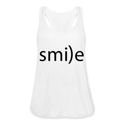 smile Emoticon lächeln lachen Optimist positiv yes - Women's Tank Top by Bella