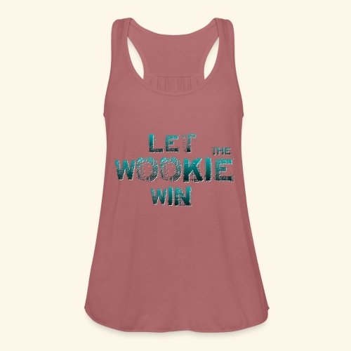 Let The Wookie Win, design 2. - Ultralet tanktop til damer