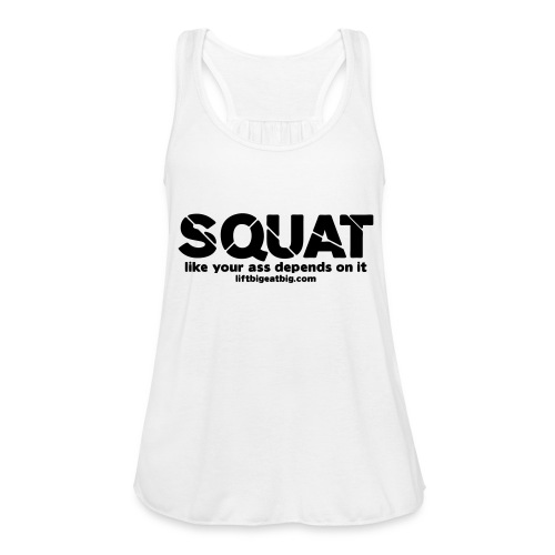 squat - Women's Tank Top by Bella