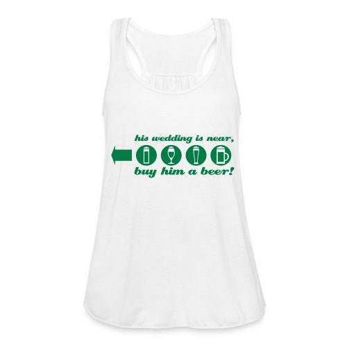 buy him a beer left jga - Federleichtes Frauen Tank Top