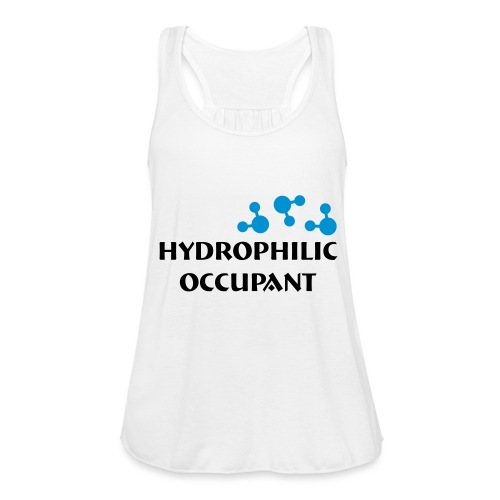 Hydrophilic Occupant (2 colour vector graphic) - Women's Tank Top by Bella