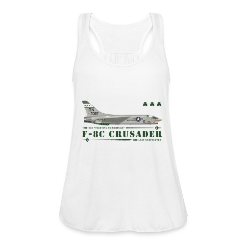 F-8C Crusader VMF-333 - Women's Tank Top by Bella