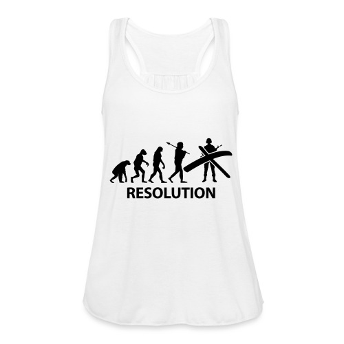Resolution Evolution Army - Women's Tank Top by Bella