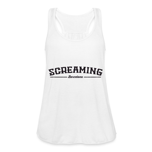 SCREAMING GIRL - Ligerísima camiseta de tirantes para mujer