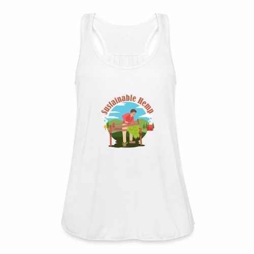 Cáñamo Sustentable en Inglés (Sustainable Hemp) - Camiseta de tirantes mujer, de Bella