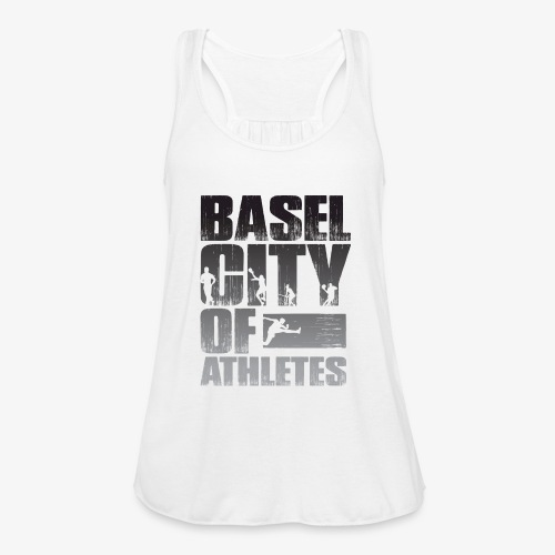 Basel City of Athletes B/W - Federleichtes Frauen Tank Top