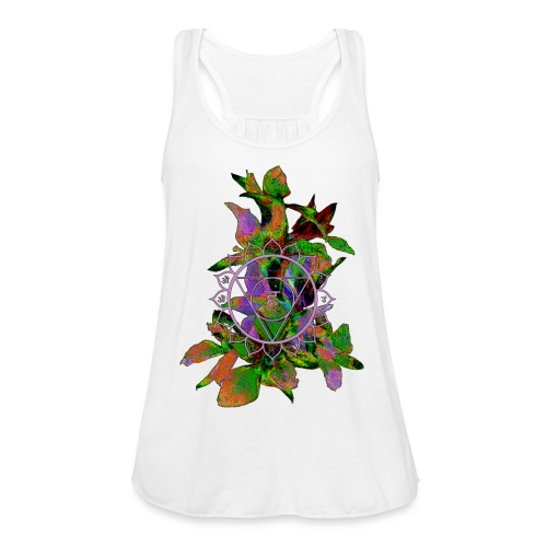mandala and flowers2 - Women's Tank Top by Bella