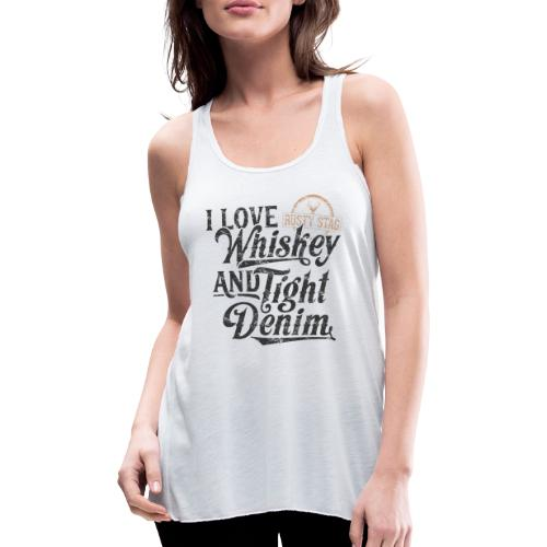 Whiskey and Tight Denim - Featherweight Women's Tank Top