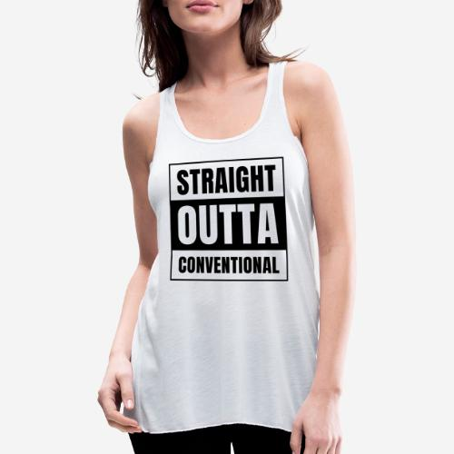 straight outta conventional - Federleichtes Frauen Tank Top