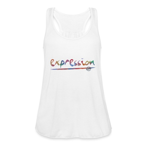 Expression typography - Women's Tank Top by Bella