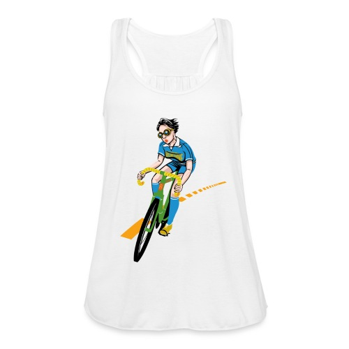 The Bicycle Girl - Frauen Tank Top von Bella