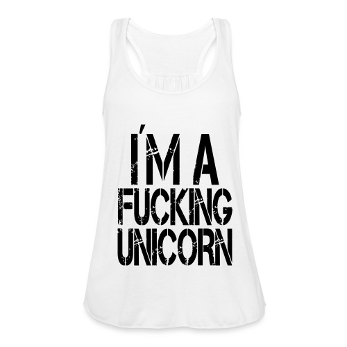Fucking Unicorn - Federleichtes Frauen Tank Top