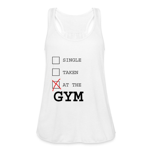 single taken gym - Vrouwen tank top van Bella
