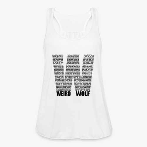 The Big W (Black) - Women's Tank Top by Bella