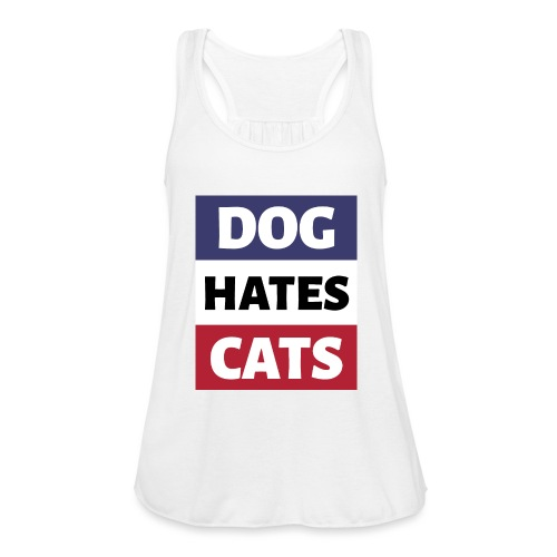 Dog Hates Cats - Frauen Tank Top von Bella