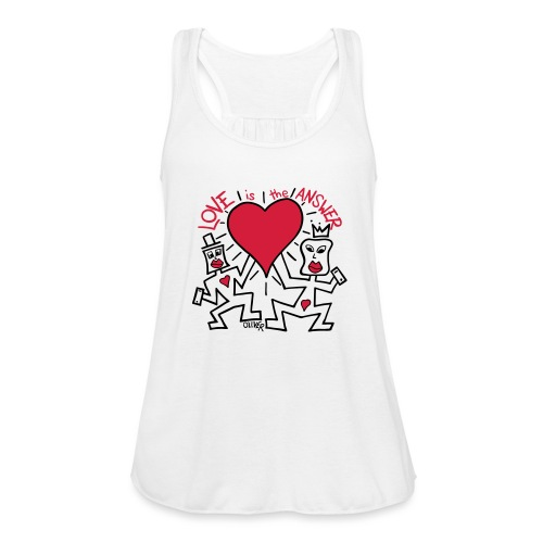 Love is the Answer by Oliver Schibli - Women's Tank Top by Bella