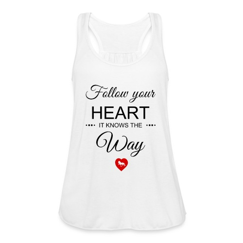 follow your heartbesser - Federleichtes Frauen Tank Top