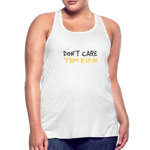 Don't Care, Never Will by Dougsteins - Featherweight Women's Tank Top